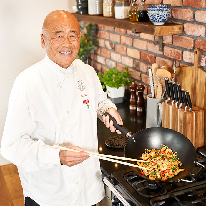 cooking wok from master asian chef ken hom