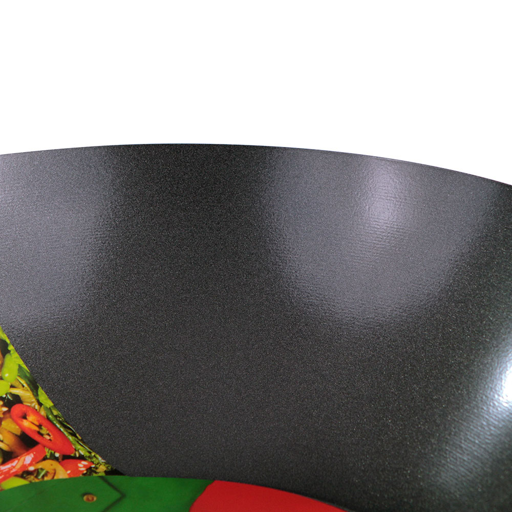 Ken Hom Classic Non-stick Carbon Steel Wok, 11 in.